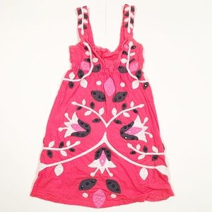 Joystick by Johnny Was pink tank top tunic XS